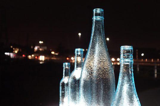 酒瓶アート1